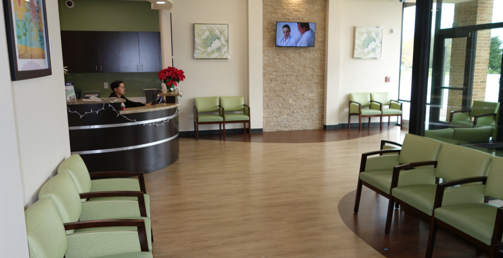 Sugar Land Pediatric Center Waiting area